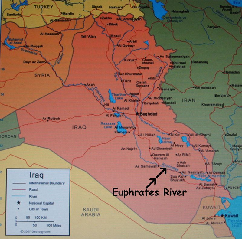 BibleProphecyMan comBabylon Map Location