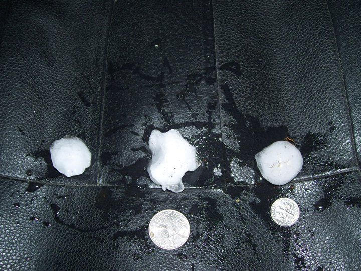 Arkansas hail