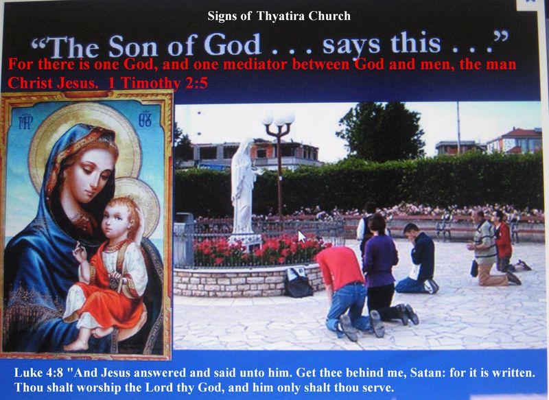 Thyatira church signs