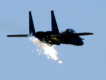 An Israeli fighter jet (Reuters/Jerry Lampen)