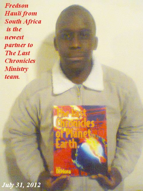 Fredson Hauli South Africa Newest person to The Last Chronicles Ministry
