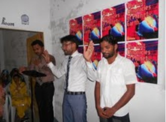 Fiaz at youth program July 26, 2012