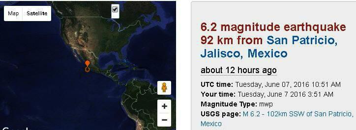 Mex quake